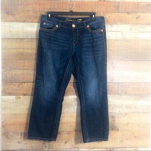 Seven7 Luxe Dark Skinny Jean